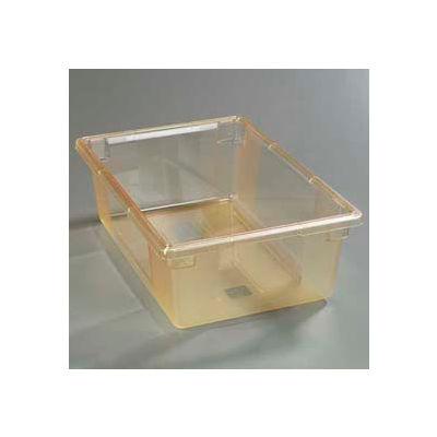 "Carlisle 10622C22 - Storplus™ 12.5 Gallon Box 26"", 18"", 9"", Glo-Honey Yellow - Pkg Qty 4"