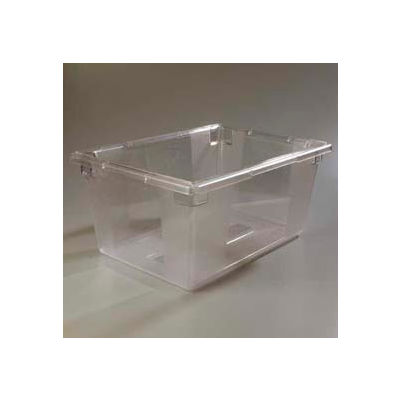 "Carlisle 1062307 - Storplus™ 16.6 Gallon Box 26"", 18"", 12"", Clear - Pkg Qty 3"