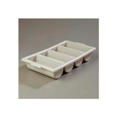 """Carlisle 107123 - Save-All™ Silverware Tray 21-1/4""""L x 11-1/2""""W x 3-3/4""""H, Grey - Pkg Qty 6"""