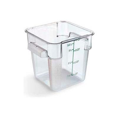 Carlisle 1072107 - Storplus™ Container 4 Qt., Clear - Pkg Qty 6