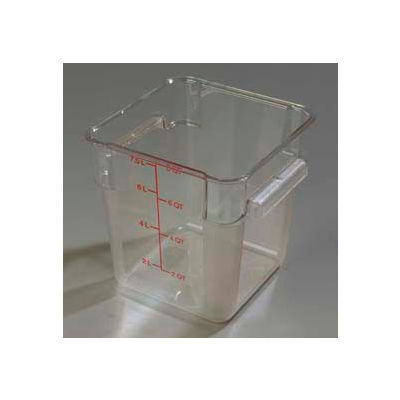 Carlisle 1072307 - Storplus™ Container 8 Qt., Clear - Pkg Qty 6