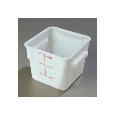 Carlisle 1073202 - Storplus™ Container 6 Qt., White - Pkg Qty 6