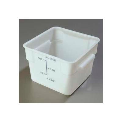 Carlisle 1073402 - Storplus™ Container 12 Qt., White - Pkg Qty 6