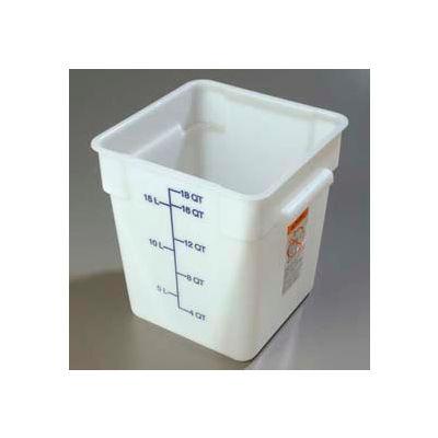 Carlisle 1073502 - Storplus™ Container 18 Qt., White - Pkg Qty 6