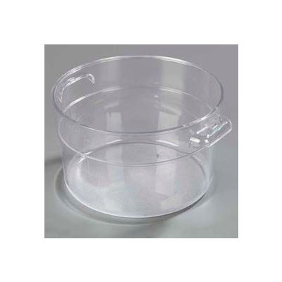 Carlisle 1076307 - Storplus™ Round Container 2 Qt., Clear - Pkg Qty 12