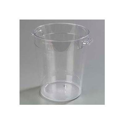 Carlisle 1076607 - Storplus™ Round Container 8 Qt., Clear - Pkg Qty 12