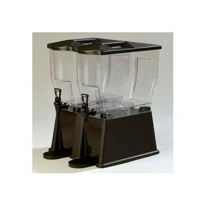 Carlisle 1085103 - Trimline Premium Beverage Server, 3 Gallon, Double Base, Rectangular, Black