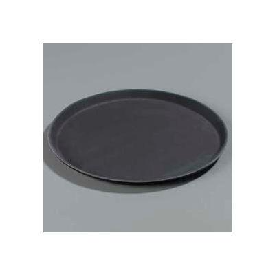 "Carlisle 1400GL004 - Griplite® Round Tray 14-5/8"" x 3/4"", Black - Pkg Qty 12"