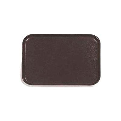 "Carlisle 1410FG004 - Glasteel™ Solid Rectangular Tray 13-3/4"", 10-5/8"", 3/4"", Black - Pkg Qty 12"