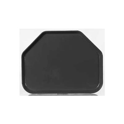 "Carlisle 1713FG004 - Glasteel™ Solid Trapezoid Tray 18"", 14"", 27/32"", Black - Pkg Qty 12"