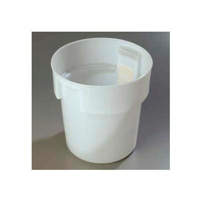 Carlisle 180002 - Bains Marie Container 18 Qt., White - Pkg Qty 6