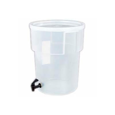 Carlisle 220930 - Beverage Dispenser Only/No Base, 5-Gallon Capacity, Translucent Bowl And Cover