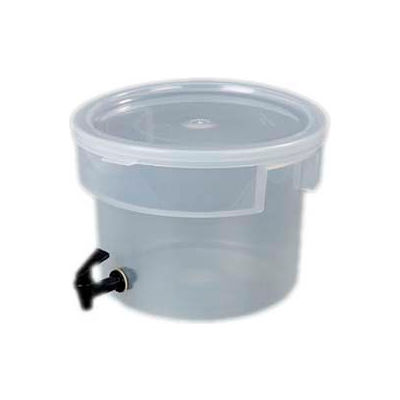 Carlisle 221930 - Beverage Dispenser Only/No Base, 3-Gallons Capacity, Translucent Bowl And Cover