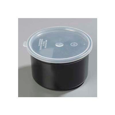Carlisle 031603 - Classic™ Crock W/Lid 1.5 Qt., Black - Pkg Qty 6