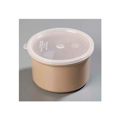 Carlisle 031606 - Classic™ Crock W/Lid 1.5 Qt., Beige - Pkg Qty 6