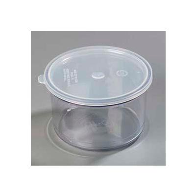 Carlisle 031607 - Classic™ Crock W/Lid 1.5 Qt., Clear - Pkg Qty 6