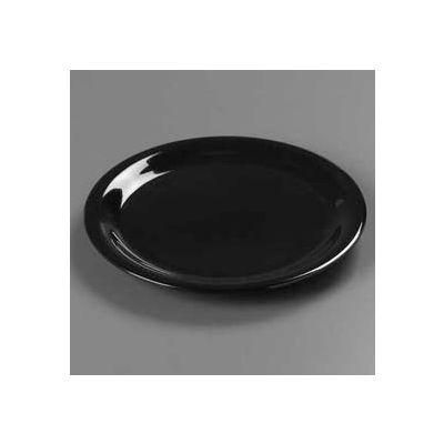 "Carlisle 3300403 - Sierrus™ Dinner Plate, Narrow Rim 9"", Black - Pkg Qty 24"