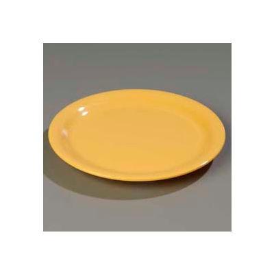 "Carlisle 3300422 - Sierrus™ Dinner Plate, Narrow Rim 9"", Honey Yellow - Pkg Qty 24"