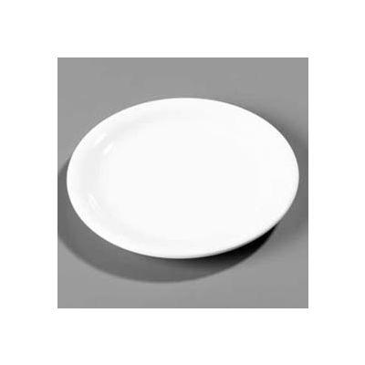"""Carlisle 3300803 - Sierrus™ Pie Plate, Narrow Rim 6-1/2"""", Black - Pkg Qty 48"""
