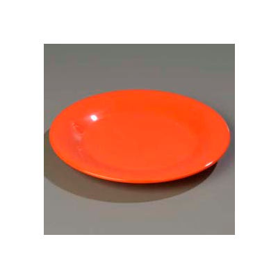 "Carlisle 3301252 - Sierrus™ Dinner Plate, Wide Rim 9"", Sunset Orange - Pkg Qty 24"