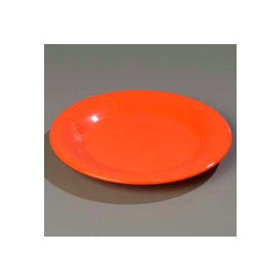 "Carlisle 3301652 - Sierrus™ Salad Plate, Wide Rim 7-1/2"", Sunset Orange - Pkg Qty 48"