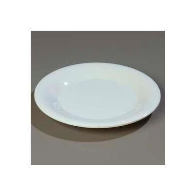 "Carlisle 3302002 - Sierrus™ Bread & Butter Plate, Wide Rim 5-1/2"", White - Pkg Qty 48"