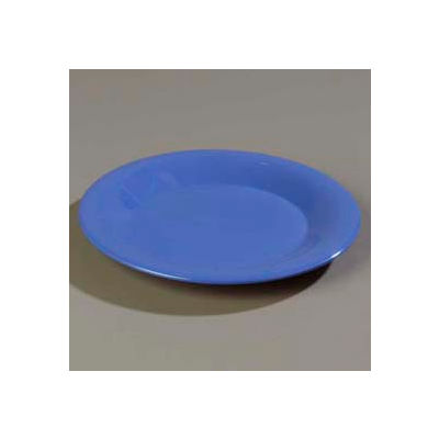 """Carlisle 3302014 - Sierrus™ Bread & Butter Plate, Wide Rim 5-1/2"""", Ocean Blue - Pkg Qty 48"""