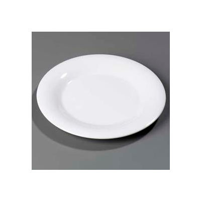"Carlisle 3302402 - Sierrus™ Dinner Plate, Wide Rim 12"", White - Pkg Qty 12"
