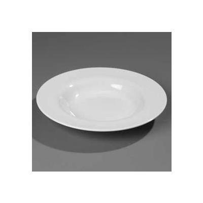 "Carlisle 3302403 - Sierrus™ Dinner Plate, Wide Rim 12"", Black - Pkg Qty 12"