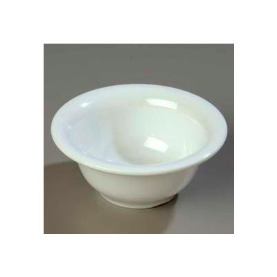"Carlisle 3303802 - Sierrus™ Rimmed Nappie Bowl 5-3/8"", White - Pkg Qty 24"