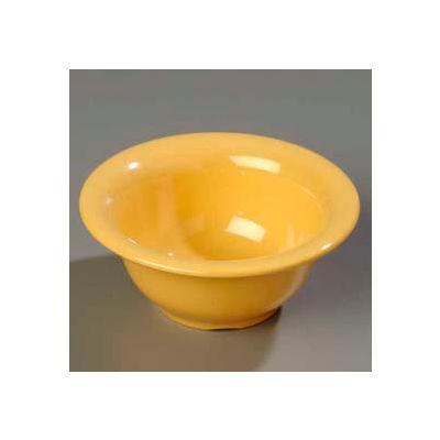 "Carlisle 3303822 - Sierrus™ Rimmed Nappie Bowl 5-3/8"", Honey Yellow - Pkg Qty 24"