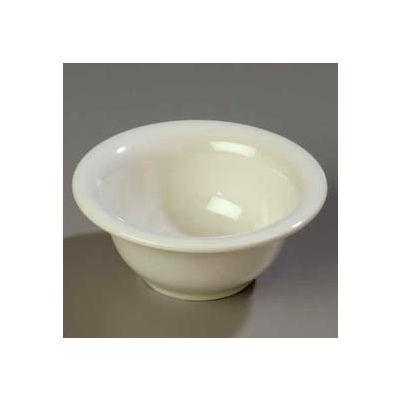 "Carlisle 3303842 - Sierrus™ Rimmed Nappie Bowl 5-3/8"", Bone - Pkg Qty 24"