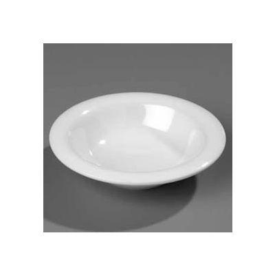 "Carlisle 3304003 - Sierrus™ Rimmed Bowl 6"", Black - Pkg Qty 48"