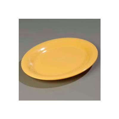 "Carlisle 3308222 - Sierrus™ Oval Platter 12"" x 9-1/4"", Honey Yellow - Pkg Qty 12"
