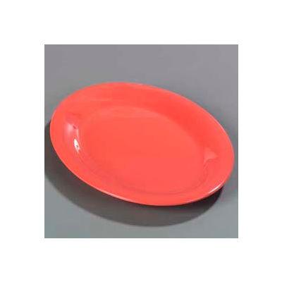 "Carlisle 3308252 - Sierrus™ Oval Platter 12"" x 9-1/4"", Sunset Orange - Pkg Qty 12"