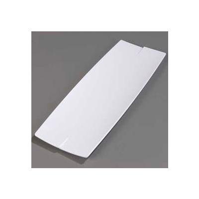 "Carlisle 3332402 - Rave™ Rectangular Platter 23"", White - Pkg Qty 6"