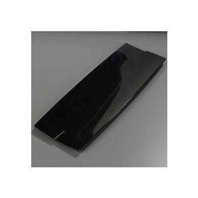 "Carlisle 3332403 - Rave™ Rectangular Platter 23"", Black - Pkg Qty 6"