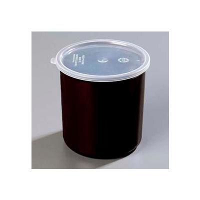 Carlisle 034103 - Poly-Tuf™ Crock W/Lid 1.2 Qt., Black - Pkg Qty 12
