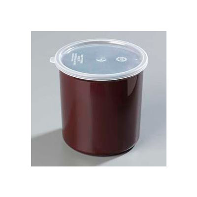 Carlisle 034201 - Poly-Tuf™ Crock W/Lid 2.7 Qt., Brown - Pkg Qty 6
