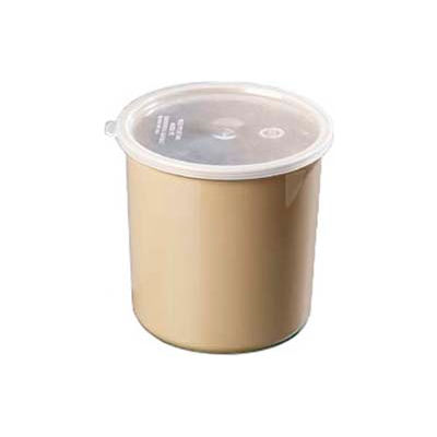 Carlisle 034206 - Poly-Tuf™ Crock W/Lid 2.7 Qt., Beige - Pkg Qty 6