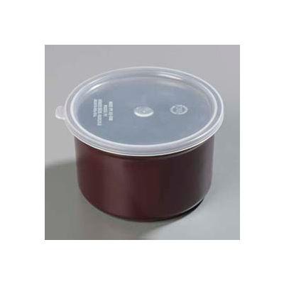 Carlisle 034301 - Poly-Tuf™ Crock W/Lid 1.5 Qt., Brown - Pkg Qty 6