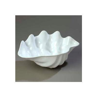 """Carlisle 034402 - 5 Qt. Large Shell 19"""" x 12-7/8"""", White"""