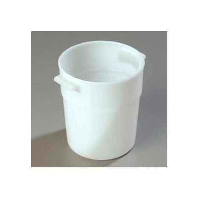 Carlisle 035002 - Bains Marie Container 3-1/2 Qt., White - Pkg Qty 12