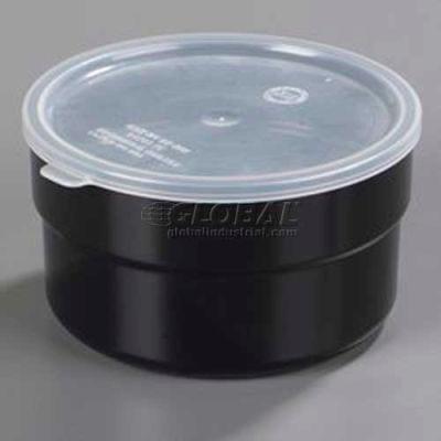 Carlisle 36503 - Supreme™ Crock W/Lid, 1.5 Qt., Black