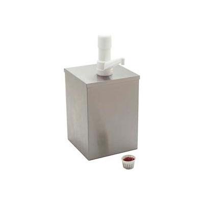 """Carlisle 38508 - 2-1/2 Qt. Fountain Jar 4-19/32"""" x 7-15/32"""", 7"""", White"""