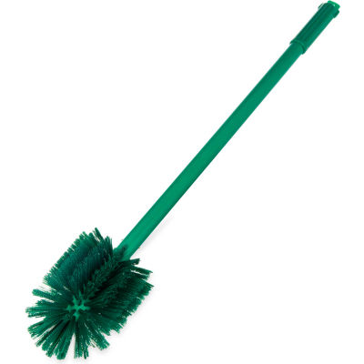 "Sparta® 5"" Diameter Polyester Multi-Purpose Valve & Fitting Brush 30"" Long - Green, 40008C09 - Pkg Qty 6"