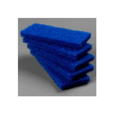 Carlisle Medium Scouring Pads, Blue - 4072500 - Pkg Qty 8