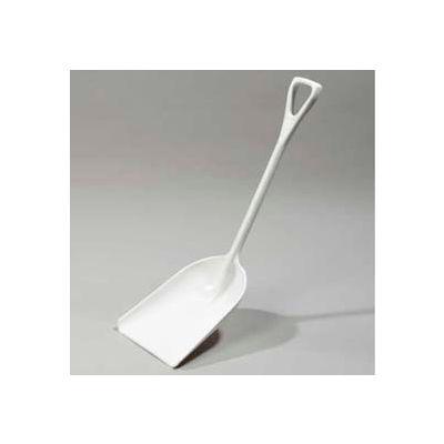 "Carlisle 4107602 - Sparta® Food Service Shovel 11"", White - Pkg Qty 6"