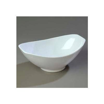 "Carlisle 041102 - Scoop Bowl, 4 Quart, 14"" x 9"", White - Pkg Qty 4"