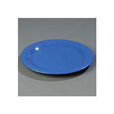 "Carlisle 4300214 - Durus® Narrow Rim Dinner Plate 10-17/32"" x 29/32"", Ocean Blue - Pkg Qty 12"